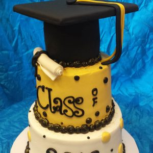 Graduation Blk-Gold